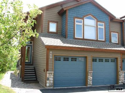 Steamboat Springs Condo/Townhouse For Sale: 660 Parkview Drive