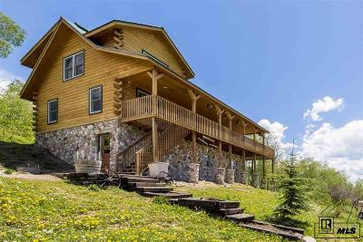 Steamboat Springs Single Family Home For Sale: 51220 Buck Mountain Ln