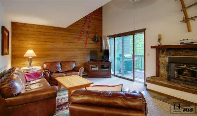 Steamboat Springs Condo/Townhouse For Sale: 2607 Burgess Creek #206 #206