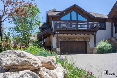 Steamboat Springs Condo/Townhouse For Sale: 1712 Highland Way