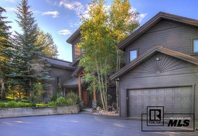 Steamboat Springs Single Family Home For Sale: 1801 Anglers Drive