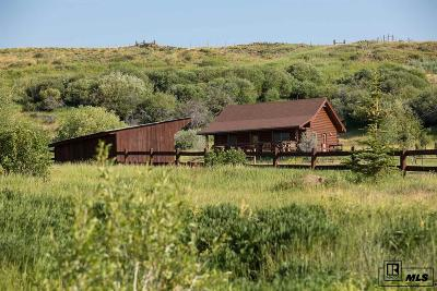 Routt County Farm For Sale: 27575 County Road 7c #State Fi
