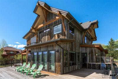Steamboat Springs Single Family Home For Sale: 45 Nob. St.
