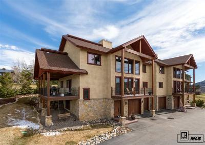 Steamboat Springs Condo/Townhouse For Sale: 335 Little Moon Trail