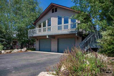 Steamboat Springs Single Family Home For Sale: 40172 Lindsay Dr