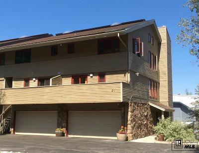 Steamboat Springs Condo/Townhouse For Sale: 1145 Overlook Drive #C-1