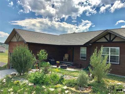 Routt County Single Family Home For Sale: 158 Oak Ridge Circle