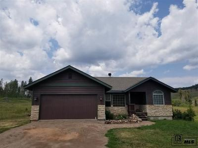 Routt County Single Family Home For Sale: 22571 Cheyenne Trail