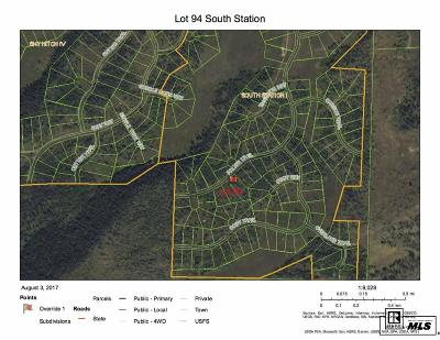 Routt County Residential Lots & Land For Sale: Tbd Halter Trail #Lot 94 S