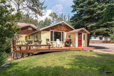 Steamboat Springs Single Family Home For Sale: 1500 Fish Creek Falls Road