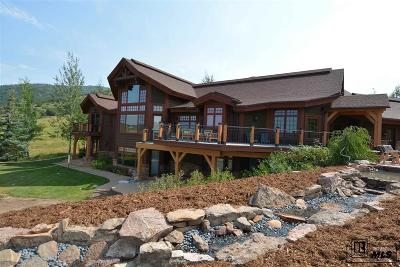 Steamboat Springs Single Family Home For Sale: 33505 Lugon Trail