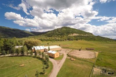 Steamboat Springs Farm For Sale: 32805 Cr 20