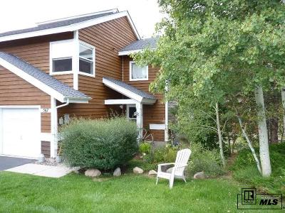 Steamboat Springs Condo/Townhouse For Sale: 567 Mountain Vista Circle