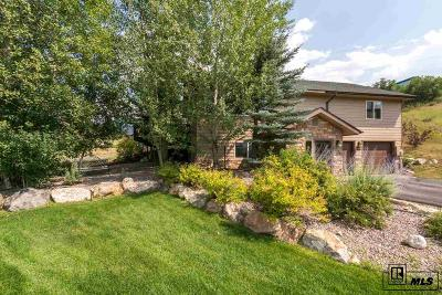 Steamboat Springs CO Single Family Home For Sale: $725,000