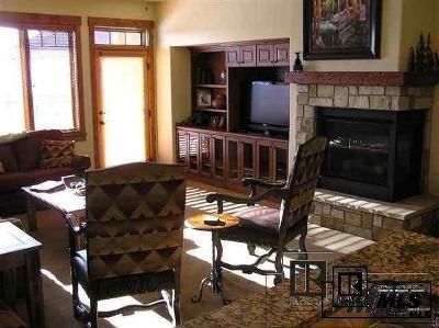 Steamboat Springs Condo/Townhouse For Sale: 1800 Medicine Springs #5103 Emerald L