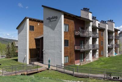Steamboat Springs CO Condo/Townhouse For Sale: $279,000