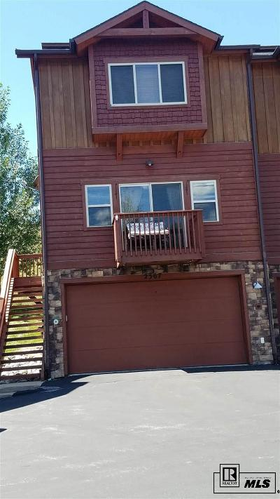 Steamboat Springs CO Condo/Townhouse For Sale: $440,000