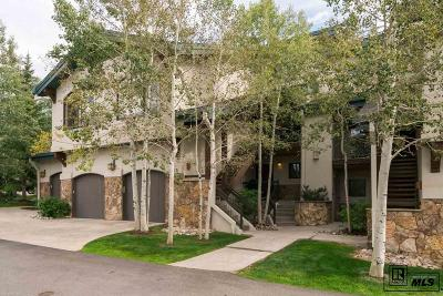 Steamboat Springs Condo/Townhouse For Sale: 2315 Storm Meadows Drive #Kitzbuhe