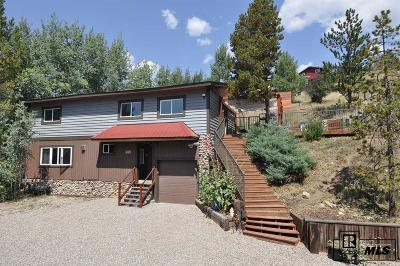 Steamboat Springs Single Family Home For Sale: 457 12th Street
