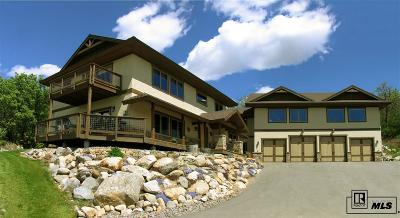 Steamboat Springs Single Family Home For Sale: 1920 Clubhouse Dr