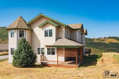 Steamboat Springs Single Family Home For Sale: 506 Buena Vista Court #Lot B