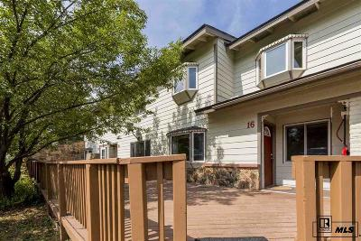 Steamboat Springs Condo/Townhouse For Sale: 16 Balsam Ct