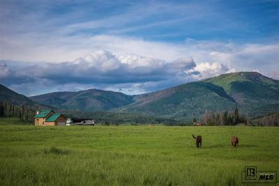 Routt County Farm For Sale: 59455 County Road 129