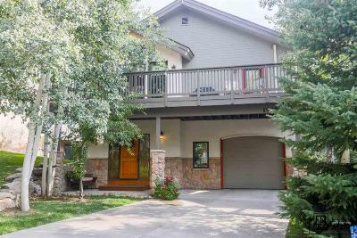 Steamboat Springs Single Family Home For Sale: 1927 Spinnaker Lane