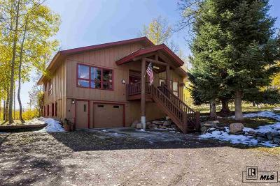 Routt County Single Family Home For Sale: 27085 Beaver Canyon Drive