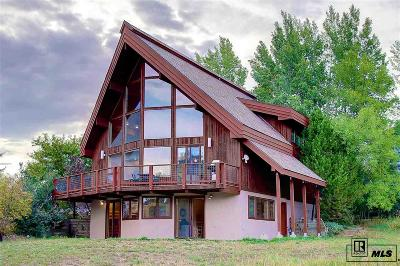 Steamboat Springs CO Single Family Home For Sale: $775,000