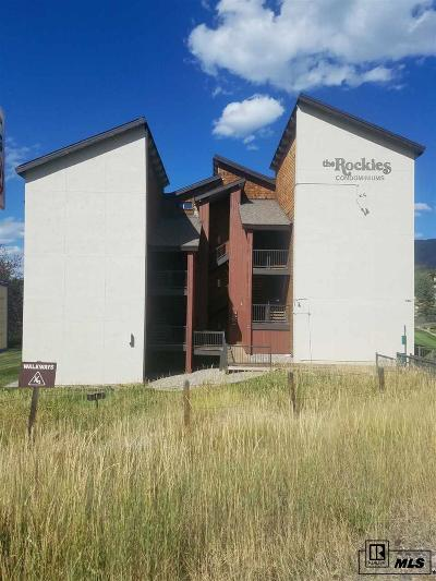 Steamboat Springs CO Condo/Townhouse For Sale: $239,000