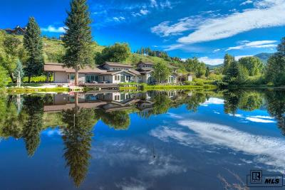 Steamboat Springs Single Family Home For Sale: 1184 Anglers Drive