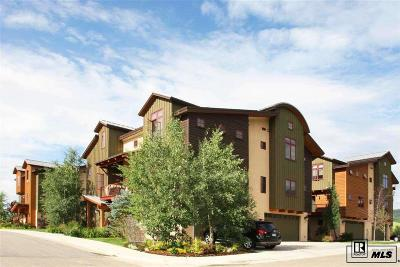 Steamboat Springs Condo/Townhouse For Sale: 909 Majestic Circle #25