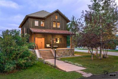 Steamboat Springs Single Family Home For Sale: 163 Logan Ave.