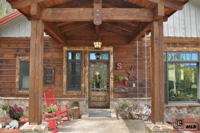 Routt County Single Family Home For Sale: 27405 Thorpe Mountain Drive