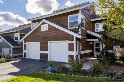 Steamboat Springs Condo/Townhouse For Sale: 535 Mountain Vista Circle