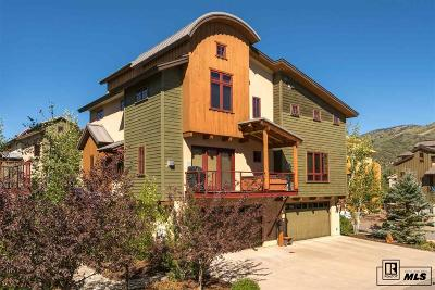 Steamboat Springs Condo/Townhouse For Sale: 876 Majestic Circle