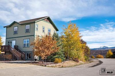 Steamboat Springs Single Family Home For Sale: 2868 West End Ave