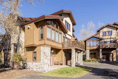 Steamboat Springs CO Condo/Townhouse For Sale: $695,000