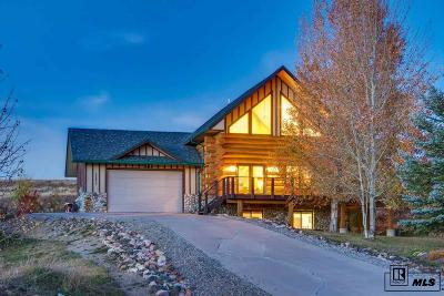 Steamboat Springs CO Single Family Home For Sale: $639,000