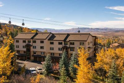 Steamboat Springs CO Condo/Townhouse For Sale: $595,000