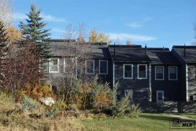 Steamboat Springs CO Condo/Townhouse For Sale: $324,000