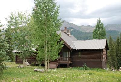 Telluride Single Family Home For Sale: 421 S Trout Lake Road