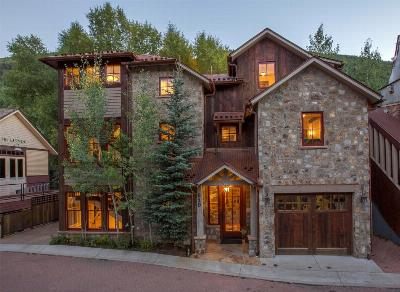 Telluride CO Single Family Home For Sale: $6,500,000