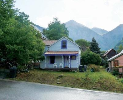 Telluride Single Family Home For Sale: 218 N Willow Street