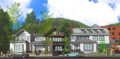 Telluride Condo/Townhouse For Sale: 345 W Pacific Avenue #B