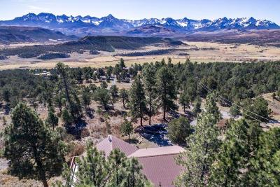 Ridgway Single Family Home For Sale: 1258 Catamount Drive