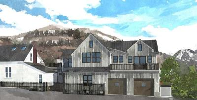 Telluride Condo/Townhouse For Sale: 120-B N Fir Street #East (B)