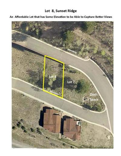 Sunset Ridge At Telluride Residential Lots & Land For Sale: Tbd S Sunset Ridge Drive #Lot 8