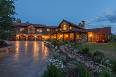 Ridgway Single Family Home For Sale: 20 Fisher Canyon Court